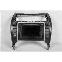 12-13 Toyota Camry Center Dash Radio Climate Bezel with Display & Info Controls