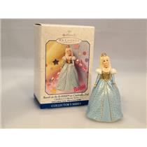 Hallmark Ornament 1999 Children's Series #3 - Barbie as Cinderella - #QEO8327