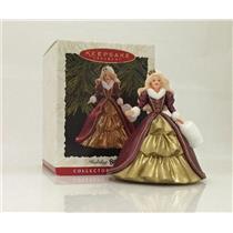 Hallmark Keepsake Series Ornament 1996 Holiday Barbie #4 - #QXI5371