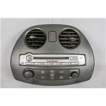 2006-2009 Mitsubishi Eclipse Radio Climate Dash Trim Bezel 6-DISC Radio Controls