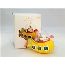 Hallmark Series Ornament 2012 Santa's Sweet Ride #6 - Santa's Submarine #QX8164