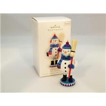 Hallmark Series Ornament 2009 Noel Nutcrackers #2 - Jolly Snowman - #QX8315