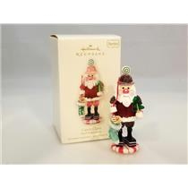 Hallmark Series Ornament 2008 Noel Nutcrackers #1 - Candy Claus - #QX7211