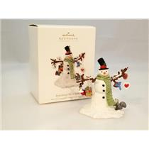Hallmark Club Ornament 2010 Branching Out in Style - Snowman - #QXC1003