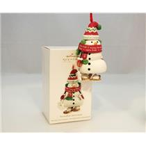 Hallmark Keepsake Club Ornament 2011 Snowshoe Snowman - #QXC5027