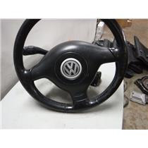 1999 - 05 VOLKSWAGEN JETTA TDI DIESEL STEERING COLOUM W WHEEL AND KEYS ( OEM )