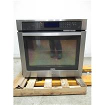 """Whirlpool 30"""" 5.0 Cu. Ft Stainless Steel Single Electric Wall Oven WOS97ES0ES"""