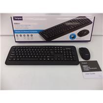 Targus AKM001US 2.4Ghz Wireless Keyboard Mouse Combo Black