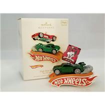 Hallmark Keepsake Magic Ornament 2009 High Flyin Fun! - Hot Wheels - #QXI1062