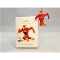 Hallmark Ornament 2009 The Fastest Man Alive - DC Comics The Flash - #QXI1015-DB