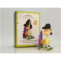 Hallmark Ornament 2011 A Monstrously Pretty Bride - Peanuts Gang - #QFO5209
