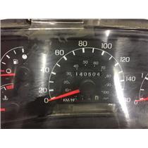 1999 2000 Ford F350 F250 diesel gauge cluster 4wd tag as12907