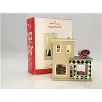 Hallmark Ornament 2014 Nostalgic Houses and Shops #31 - Andy's Cars - #QX9143-DB