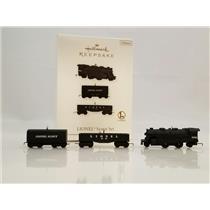 Hallmark Miniature Ornaments 2010 Lionel Scout Set - 3 Lionel Trains - #QXM9036