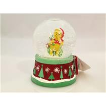 Disney 2013 Winnie the Pooh Water Globe - Pooh Playing Santa Claus - #711691-127