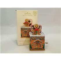 Hallmark Ornament 2008 Jack in the Box Memories #6  Pop Goes the Gingerbread Man