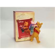 Hallmark Ornament 2004 Stocking Stuffers - Disney's Winnie the Pooh #QXD5041-SDB
