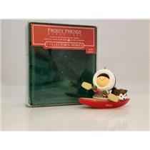 Hallmark Keepsake Series Ornament 1985 Frosty Friends #6 - #QX4822-DB