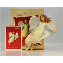 Hallmark Ornament 2002 Angel of Comfort - Susan G. Komen Breast Cancer - QXI6363