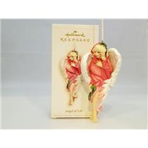 Hallmark Ornament 2006 Angel of Life Susan G. Komen Breast Cancer - #QXG2686-DB