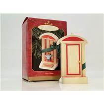 Hallmark Keepsake Ornament 1999 New Home - Door with Green Ribbon - #QX6347-DBNT
