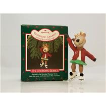 Hallmark Series Ornament 1987 Reindeer Champs #2 - Dancer - #QX4809-SDB