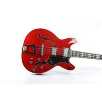 Hagstrom Viking Semi-Hollow Body Bass Guitar Owned Justin Meldal-Johnsen #32887