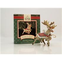 Hallmark Ornament 1992 Comet and Cupid - Santa and His Reindeer - #XPR9737
