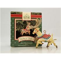 Hallmark Ornament 1992 Dasher and Dancer - Santa and His Reindeer - #XPR9735
