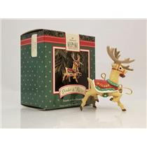 Hallmark Ornament 1992 Donder and Blitzen - Santa and His Reindeer - #XPR9738