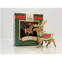 Hallmark Ornament 1992 Prancer and Vixen - Santa and His Reindeer - #XPR9736