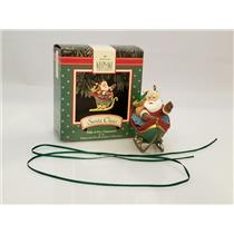 Hallmark Ornament 1992 Santa Claus - Santa and His Reindeer - #XPR9739