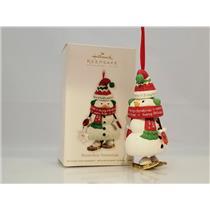 Hallmark Keepsake Club Ornament 2011 Snowshoe Snowman - #QXC5027-DB