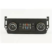 07-09 Chevrolet Suburban Tahoe Climate Temperature Control Unit Rear Controls