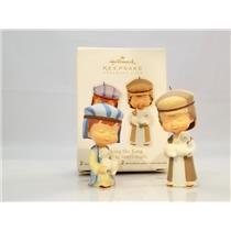 Hallmark Club Ornament Set 2011 Seeking the King - Mary's Angels - #QXC5019-SDB