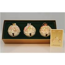 2003 Hallmark Club Ornament Set 30th Commemorative Anniversary Bells - #QXC4617
