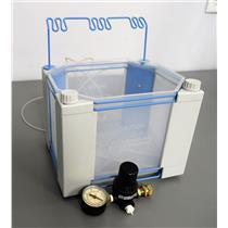 Dionex EO1 Eluent Organizer 045983 HPLC with Tubing, & Air Regulator
