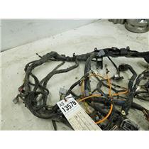 2008-2010 Ford F350 Powerstroke diesel XLT FX4 dash wiring harness tag as13578