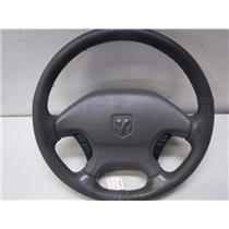 1998 - 2002 DODGE RAM 5.7 HEMI STEERING WHEEL VLL5 CODE 1500 DARK TAUPE OEM