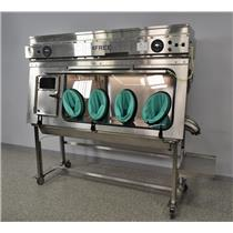Germfree VF-64PUSP VersaFlow Laminar Flow Aseptic Isolator w/Movotec Lift System