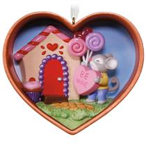Hallmark Ornament 2017 Cookie Cutter #1 - Be Mine Cookie Cutter Mouse - #QHA9112