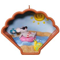 Hallmark Ornament 2017 Cookie Cutter Though the Year #6 - Vacation - #QHA9135