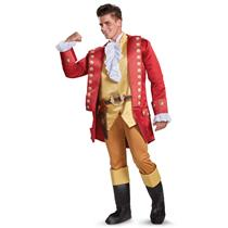 Gaston Disney Beauty and the Beast Deluxe Adult Costume XXL 50-52