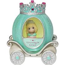 Precious Moments Magic Figurine 2016 Princess Carriage - Grace  Lights Up 164401