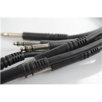 9 Mogami 2893 4' Bantam TT Balanced Patchbay Cables #33181