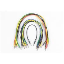15 Mogami 2893 2' Bantam TT Balanced Patchbay Cables Bundle #33186