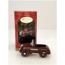1997 Hallmark Keepsake Club Ornament 1937 Steelcraft Airflow By Murray - QXC5185