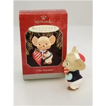 Hallmark Keepsake Ornament 1998 Feliz Navidad - Mouse with Pepper - #QX6173