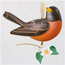 Hallmark Keepsake Series Ornament 2018 Beauty of Birds #14 - Robin - #QX9453