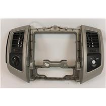 05-11 Toyota Tacoma Center Dash Radio Climate Bezel with 4WD Switch and Vents